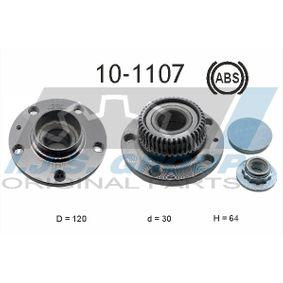 Juego de cojinete de rueda Ø: 120mm, Diám. int.: 30mm con OEM número 1J0598477