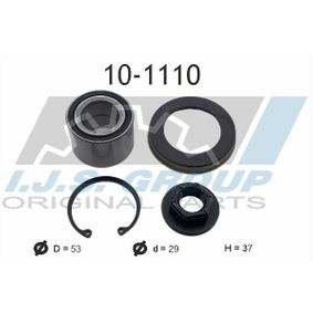 Wheel Bearing Kit Ø: 53mm, Inner Diameter: 29mm with OEM Number 1201 568