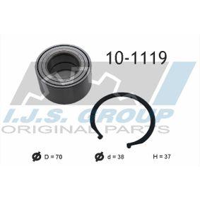 2011 Hyundai i10 PA 1.1 Wheel Bearing Kit 10-1119