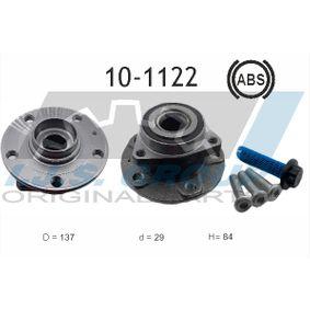 Wheel Bearing Kit Ø: 137mm, Inner Diameter: 29mm with OEM Number 8V0598625B