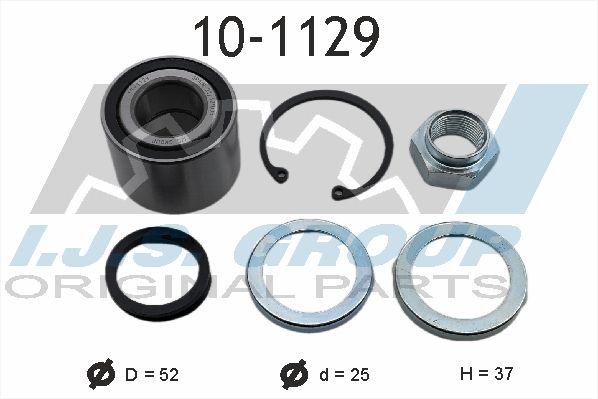 IJS GROUP  10-1129 Radlagersatz Ø: 52mm, Innendurchmesser: 25mm