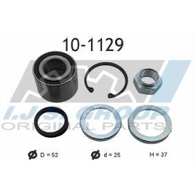 Radlagersatz Ø: 52mm, Innendurchmesser: 25mm mit OEM-Nummer 77 03 090 253