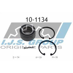 Radlagersatz Ø: 74mm, Innendurchmesser: 39mm mit OEM-Nummer 90425658