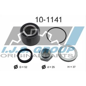 Radlagersatz Ø: 52mm, Innendurchmesser: 25mm mit OEM-Nummer 43210-AX000(+)