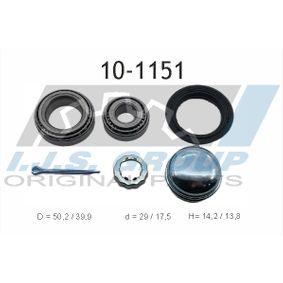 Radlagersatz mit OEM-Nummer 311 498 071BS