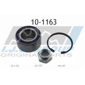 Radlagersatz Ø: 72mm, Innendurchmesser: 37mm mit OEM-Nummer 82 374 669