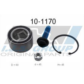 Radlagersatz Ø: 80mm, Innendurchmesser: 45mm mit OEM-Nummer 7D0498625