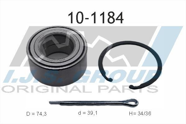 IJS GROUP  10-1184 Wheel Bearing Kit Ø: 74mm, Inner Diameter: 39mm