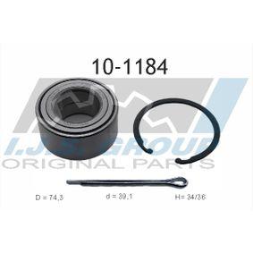 Wheel Bearing Kit 10-1184 COUPE (GK) 2.0 GLS MY 2003