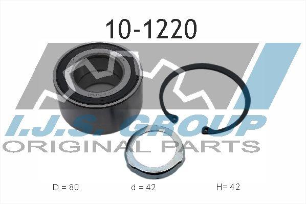 IJS GROUP  10-1220 Radlagersatz Ø: 80mm, Innendurchmesser: 42mm