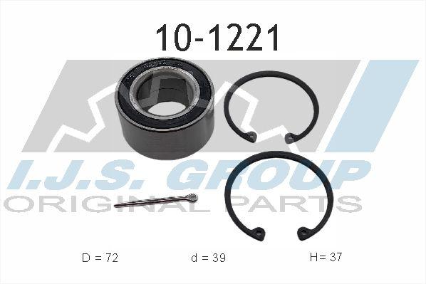 IJS GROUP  10-1221 Juego de cojinete de rueda Ø: 72mm, Diám. int.: 39mm