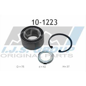 Radlagersatz Ø: 75mm, Innendurchmesser: 42mm mit OEM-Nummer 115204