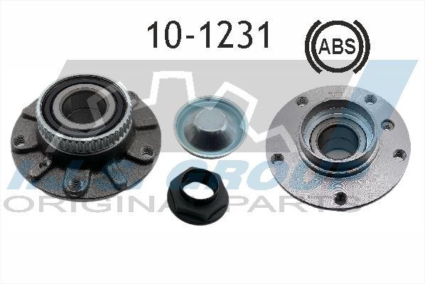 IJS GROUP  10-1231 Radlagersatz Ø: 139mm, Innendurchmesser: 37mm
