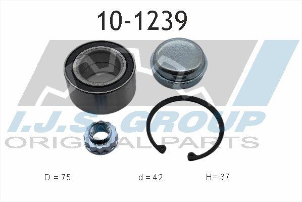 IJS GROUP  10-1239 Wheel Bearing Kit Ø: 75mm, Inner Diameter: 42mm
