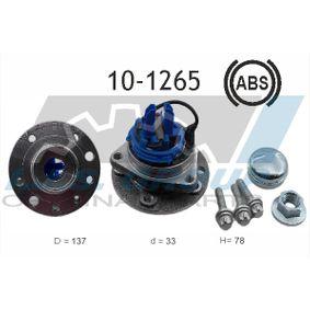 Radlagersatz Art. Nr. 10-1265 120,00€