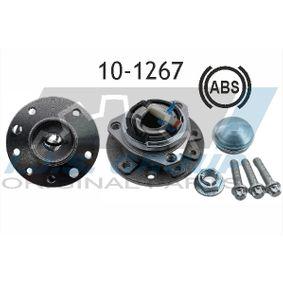 Wheel Bearing Kit Ø: 137mm, Inner Diameter: 25,5mm with OEM Number 16 03 254