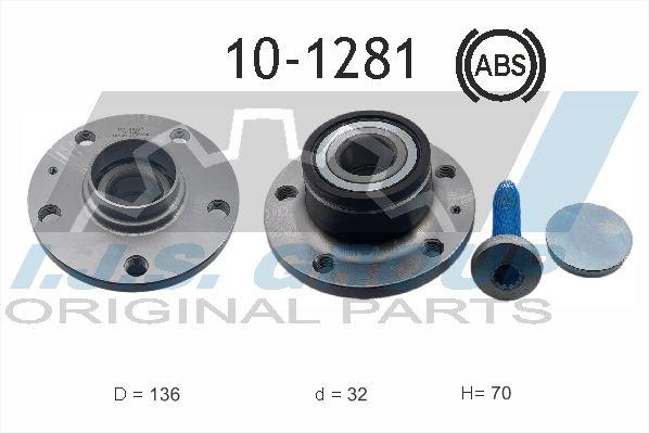 IJS GROUP  10-1281 Radlagersatz Ø: 136mm, Innendurchmesser: 32mm