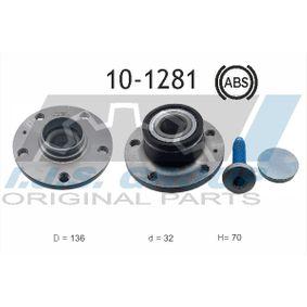 Radlagersatz Ø: 136mm, Innendurchmesser: 32mm mit OEM-Nummer L1TD501611
