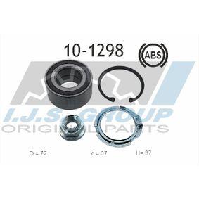 Radlagersatz Ø: 72mm, Innendurchmesser: 37mm mit OEM-Nummer 40262BG00A