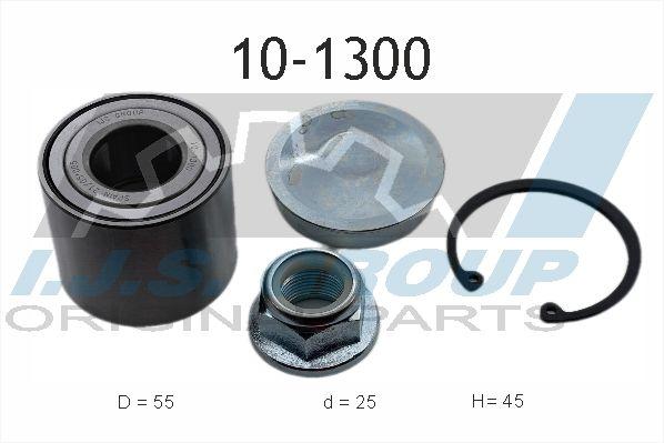 IJS GROUP  10-1300 Radlagersatz Ø: 55mm, Innendurchmesser: 25mm