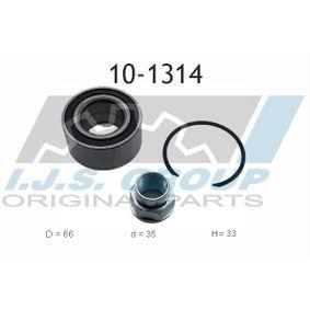 Wheel Bearing Kit 10-1314 PANDA (169) 1.2 MY 2006
