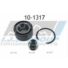 Radlagersatz Ø: 72mm, Innendurchmesser: 37mm mit OEM-Nummer 82374669