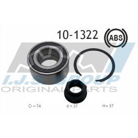 LANCIA Delta III (844) 1.4 Bifuel Radnabe IJS GROUP 10-1322 (1.4 Bifuel Benzin/Autogas (LPG) 2014 198 A4.000)