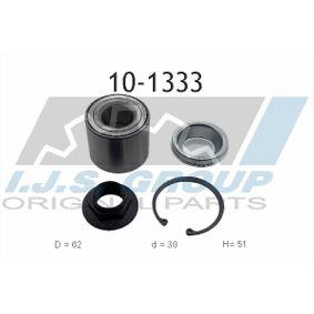 Radlagersatz Ø: 62mm, Innendurchmesser: 30mm mit OEM-Nummer 4249,66