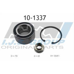 Wheel Bearing Kit Ø: 79mm, Inner Diameter: 43mm with OEM Number 31106773005