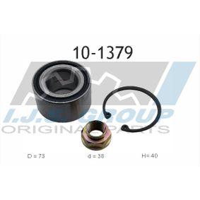 Wheel Bearing Kit Ø: 73mm, Inner Diameter: 38mm with OEM Number 44300-SR3-008