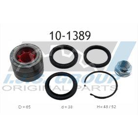 Wheel Bearing Kit Ø: 65mm, Inner Diameter: 38mm with OEM Number 28044-AA000