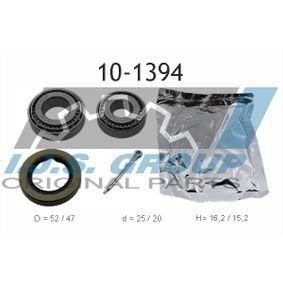 Radlagersatz Art. Nr. 10-1394 120,00€