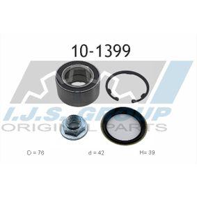Wheel Bearing Kit Ø: 76mm, Inner Diameter: 42mm with OEM Number OK20133065A
