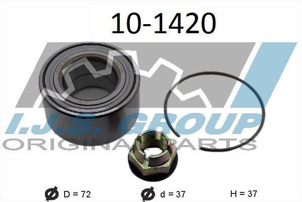 IJS GROUP  10-1420 Radlagersatz Ø: 72mm, Innendurchmesser: 37mm