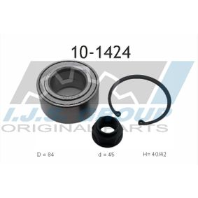 Wheel Bearing Kit 10-1424 CIVIC 8 Hatchback (FN, FK) 2.2 CTDi (FK3) MY 2012