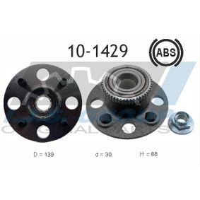 Radlagersatz Ø: 139mm, Innendurchmesser: 30mm mit OEM-Nummer 42200S5A008