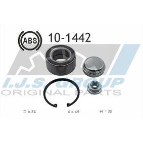 Juego de cojinete de rueda Ø: 84mm, Diám. int.: 45mm con OEM número 168 357 00 89