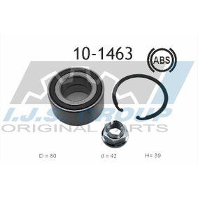 Radlagersatz Ø: 80mm, Innendurchmesser: 42mm mit OEM-Nummer 40262BG00A