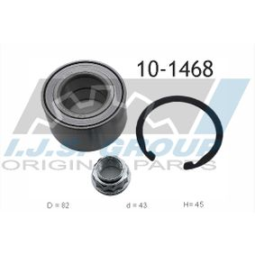 Wheel Bearing Kit 10-1468 RAV 4 II (CLA2_, XA2_, ZCA2_, ACA2_) 2.0 4WD (ACA21, ACA20) MY 2003