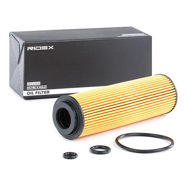 Filtro de aceite de motor RIDEX 7O0063 conocimiento experto