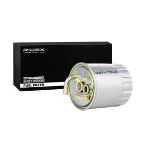 RIDEX  9F0060 Kraftstofffilter Höhe: 127mm