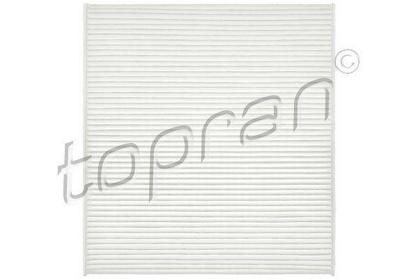 TOPRAN  115 544 Filter, Innenraumluft Länge: 253mm, Breite: 234mm, Höhe: 32mm