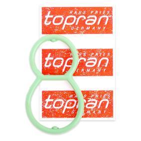Unterdruckpumpe, Bremsanlage VW PASSAT Variant (3B6) 1.9 TDI 130 PS ab 11.2000 TOPRAN Dichtung, Unterdruckpumpe (115 980) für
