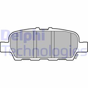 2021 Nissan Juke f15 1.6 DIG-T 4x4 Brake Pad Set, disc brake LP3158