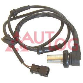 ABS Sensor VW PASSAT Variant (3B6) 1.9 TDI 130 PS ab 11.2000 AUTLOG Sensor, Raddrehzahl (AS4008) für