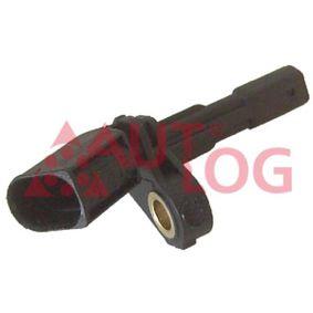 Sensor, Raddrehzahl Länge: 80mm mit OEM-Nummer 1K0927808