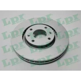 Bremsscheibe Bremsscheibendicke: 26mm, Felge: 4-loch, Ø: 283mm mit OEM-Nummer E 169 142
