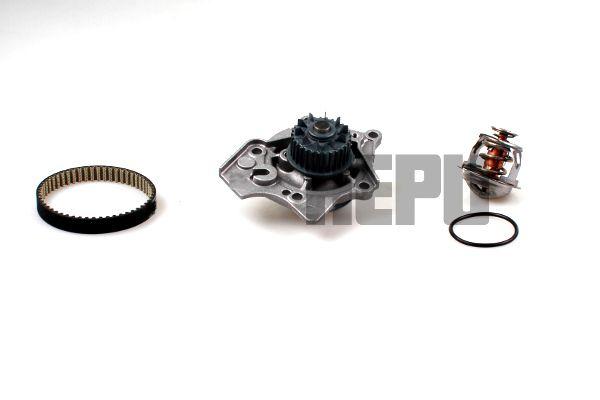 HEPU  PK06590TH Kit cinghia distribuzione, pompa acqua Largh.: 12mm
