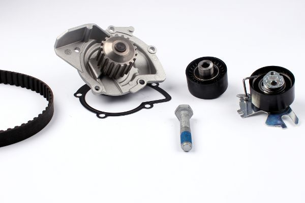 HEPU  PK09020 Water pump and timing belt kit Width: 25mm