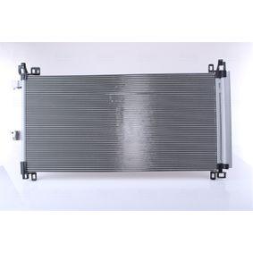 Kondensator, Klimaanlage Netzmaße: 732 x 362 x 16 mm mit OEM-Nummer 6455HR